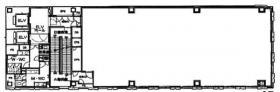 銀座マロニエビル:基準階図面