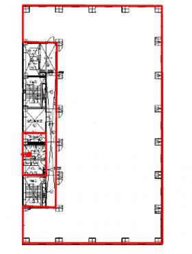KDX御茶ノ水ビル:基準階図面
