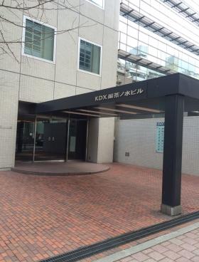 KDX御茶ノ水ビルのエントランス