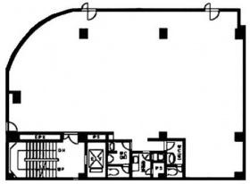 MC中延ビル:基準階図面