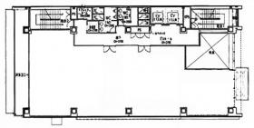 コーストライン品川ビル:基準階図面