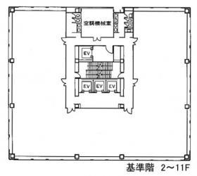 相互半蔵門ビル:基準階図面