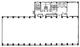 丸石第2ビル:基準階図面
