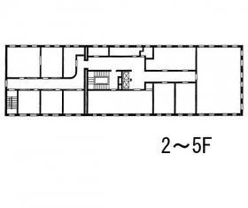 丸石ビルディング:基準階図面