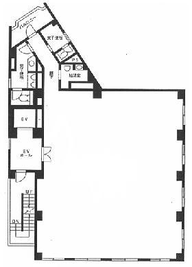神田駿河台ビル:基準階図面