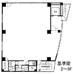 神田須田町ビル:基準階図面