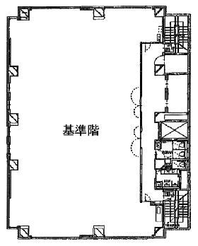 麹町プレイス:基準階図面