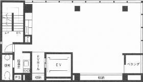NSK日本橋浜町ビル:基準階図面