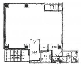 立石本町ビル:基準階図面