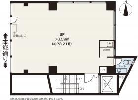 大和駒込ビル:基準階図面