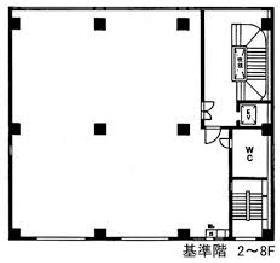 ラボ東京ビル:基準階図面