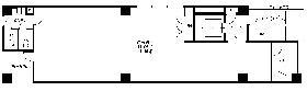 いちご四谷四丁目ビル (旧)COI四谷4丁目:基準階図面