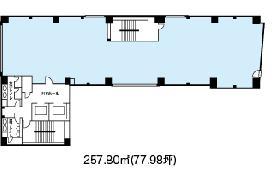 麹町HFビル:基準階図面