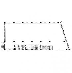 第2ニモナミビル:基準階図面