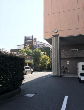 大島神田ビル(アピタシオン大島)のエントランス