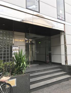 田中第2別館ビルのエントランス
