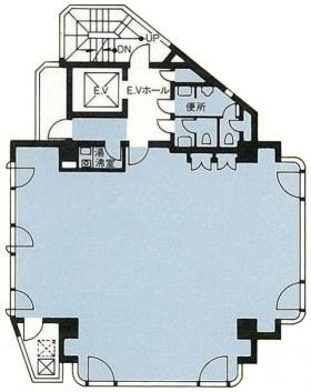 アケボノ大鉄ビル:基準階図面