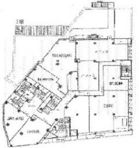 東中野ユニゾンモールビル:基準階図面
