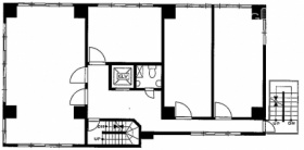 神田中央ビル:基準階図面