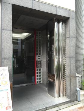 神田中央ビルのエントランス