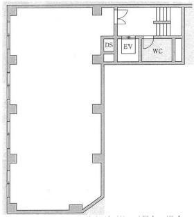 兜町八千代ビル:基準階図面