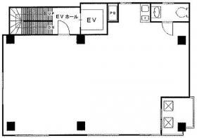 リベラ茅場町ビル:基準階図面