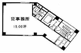 ヤマヨビル:基準階図面