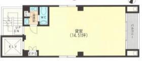 東信入船ビル:基準階図面
