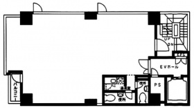 Dear日本橋タワービル:基準階図面