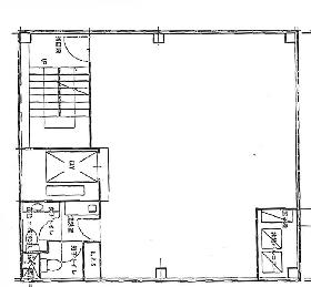 昭美京橋第一ビル:基準階図面