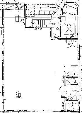 新槇町別館第2ビル:基準階図面