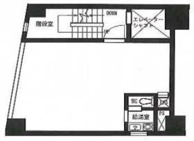 山城第3ビル:基準階図面