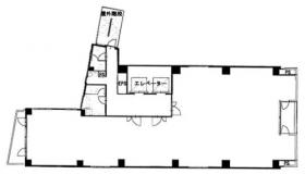 山城ビル:基準階図面