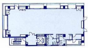 三秀舎ビル:基準階図面