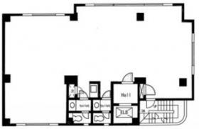 富士プラザ:基準階図面