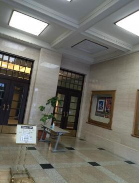 市政会館の内装