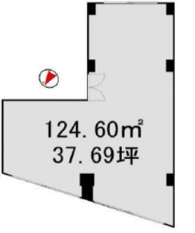 三久ビル:基準階図面