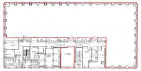 新丸の内センタービル:基準階図面