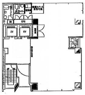 日比谷頴川ビル:基準階図面