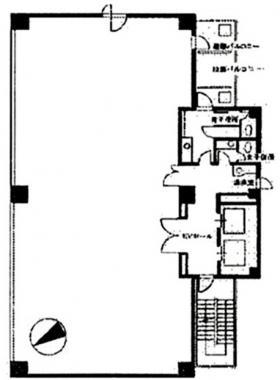 TCUビル:基準階図面