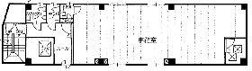 後関ビル:基準階図面