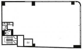 湊SYビル:基準階図面