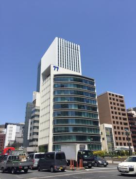 七十七銀座ビルの外観写真