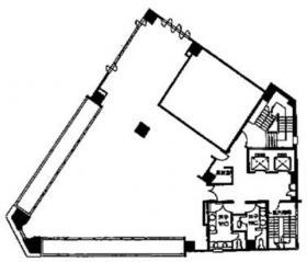 二引ビル:基準階図面