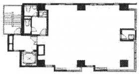 錦町ビルディング:基準階図面