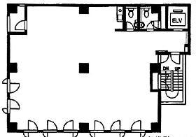 大宮第1ビル:基準階図面