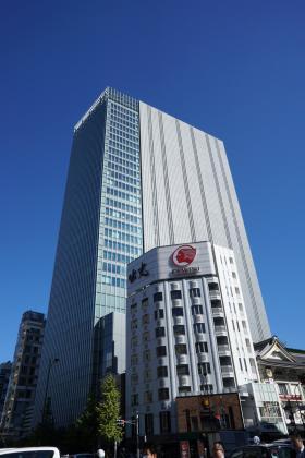 歌舞伎座タワーの外観写真