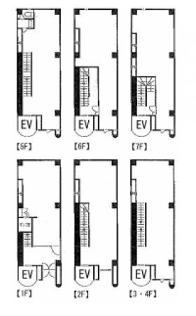 第3須賀ビル:基準階図面