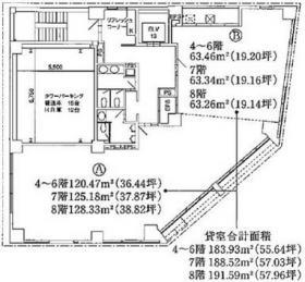 C-5ビル:基準階図面