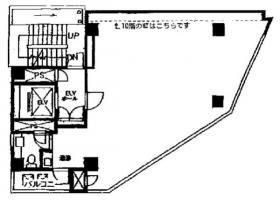 MCC神田岩本町ビル:基準階図面